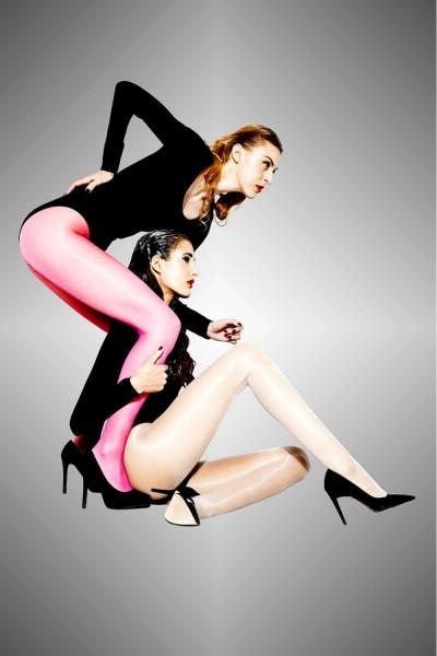Cecilia de Rafael - Ultra sheer, glossy tights Vidrio, 15 DEN