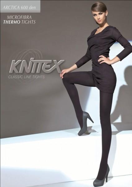 Knittex - Opaque winter tights Arctica 600 denier