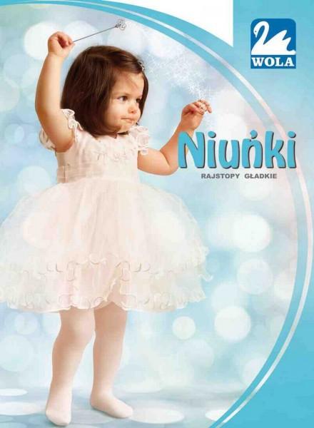 Wola - Plain cotton tights for babies Niunki